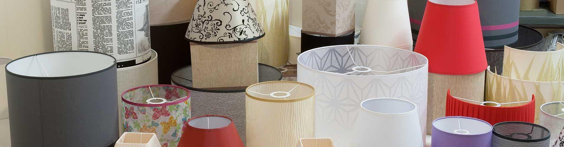 Produkcja abażurów o różnych kształtach, rozmiarach i kolorach na życzenie Klienta - 3gazele Sp. z o.o.